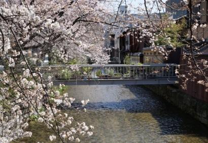 Le canal dans le quartier de Gion