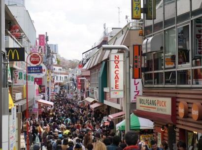 Takeshita-dori un dimanche matin tout à fait normal