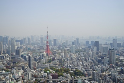 View from Mori Tower 01