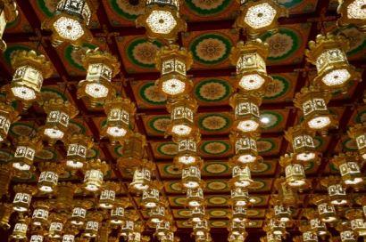 Buddha Tooth Relic Temple : le temple abrite dans un reliquaire en or l'une des dents de Bouddha